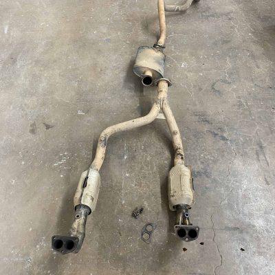 Borla exhaust cleaning and overhaul 1